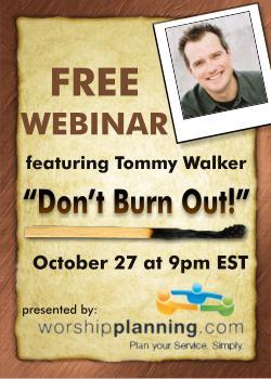 Tommy Walker Webinar