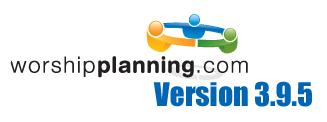 WorshipPlanning.com version 3.9.5