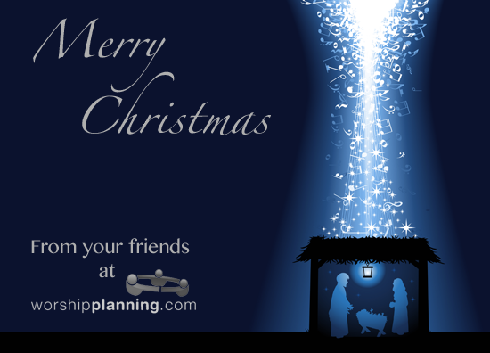 Christmas Card from WorshipPlanning.com